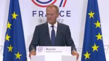 Tusk avisa a EEUU de represalias si impone aranceles al vino francés