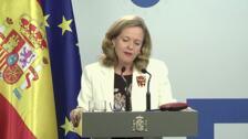 Calviño sobre maximizar la recuperación de ayudas a Bankia
