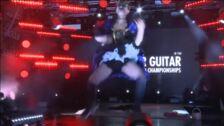 """El estadounidense Rob """"Marquis"""",  rey de la guitarra aérea"""