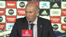 """Zidane: """"Tenemos que mandar el balón a tomar por saco"""""""