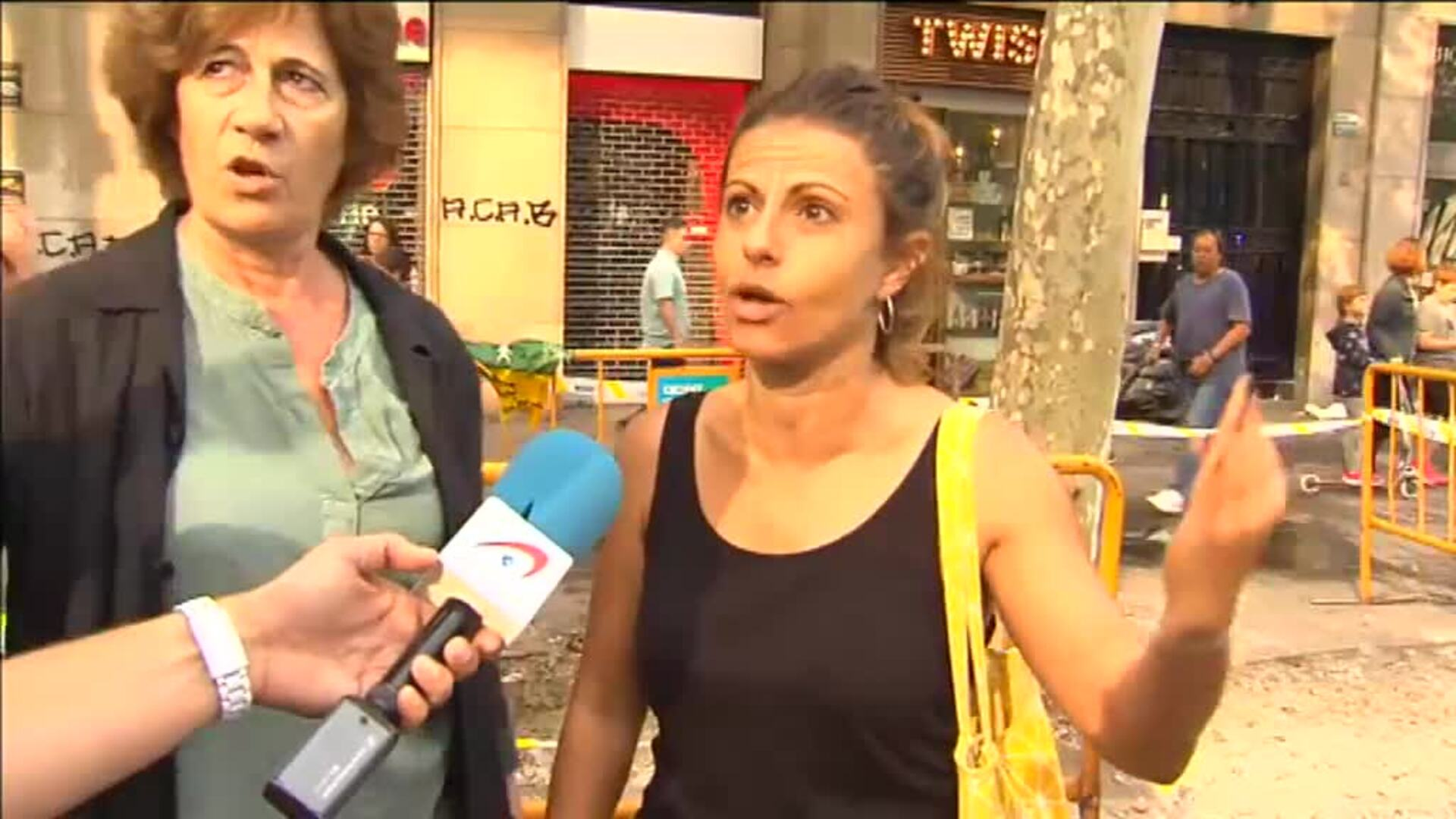 El debate sobre la violencia en Barcelona se traslada a la calle