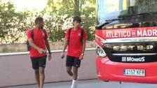 El Atlético se prepara para un duelo bronco ante el Getafe