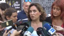 """Colau sobre la violencia en Barcelona: """"No creemos que esto vaya a ser una tendencia ni algo que se vaya a cronificar"""""""