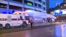 La policía de Hong Kong detiene a 36 personas durante la última jornada de protestas