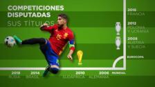 Sergio Ramos, la leyenda de España