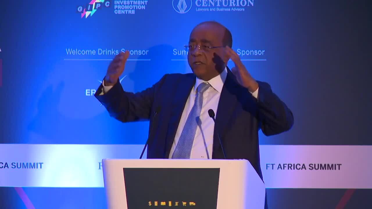 FT Africa Summit 2018 organised by FT Live