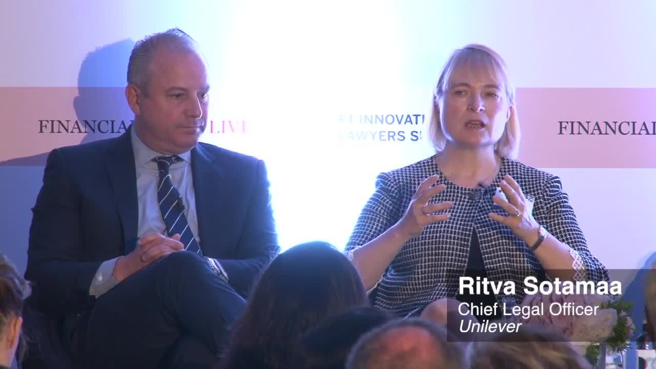 FT Innovative Lawyers Summit organised by FT Live