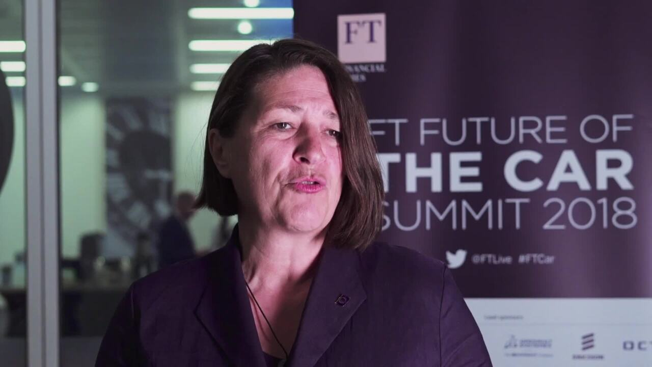 FT Future Of The Car Summit 2018 Organised By FT Live