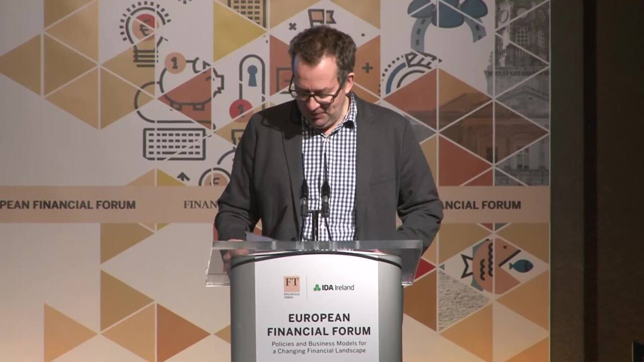 European Financial Forum organised by FT Live