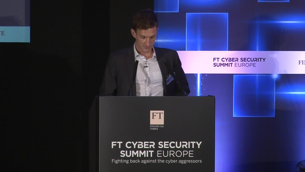 FT Cyber Security Summit Europe 2016 organised by FT Live