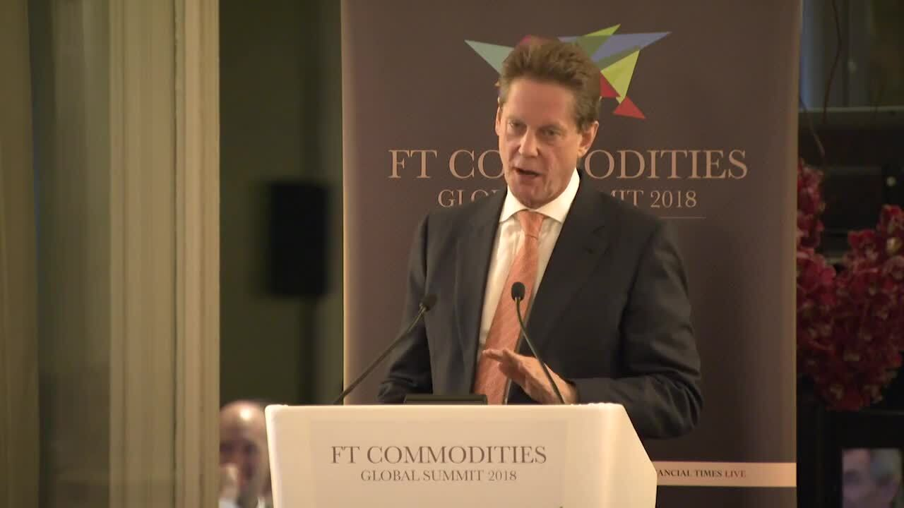 FT Commodities Global Summit 2018 organised by FT Live