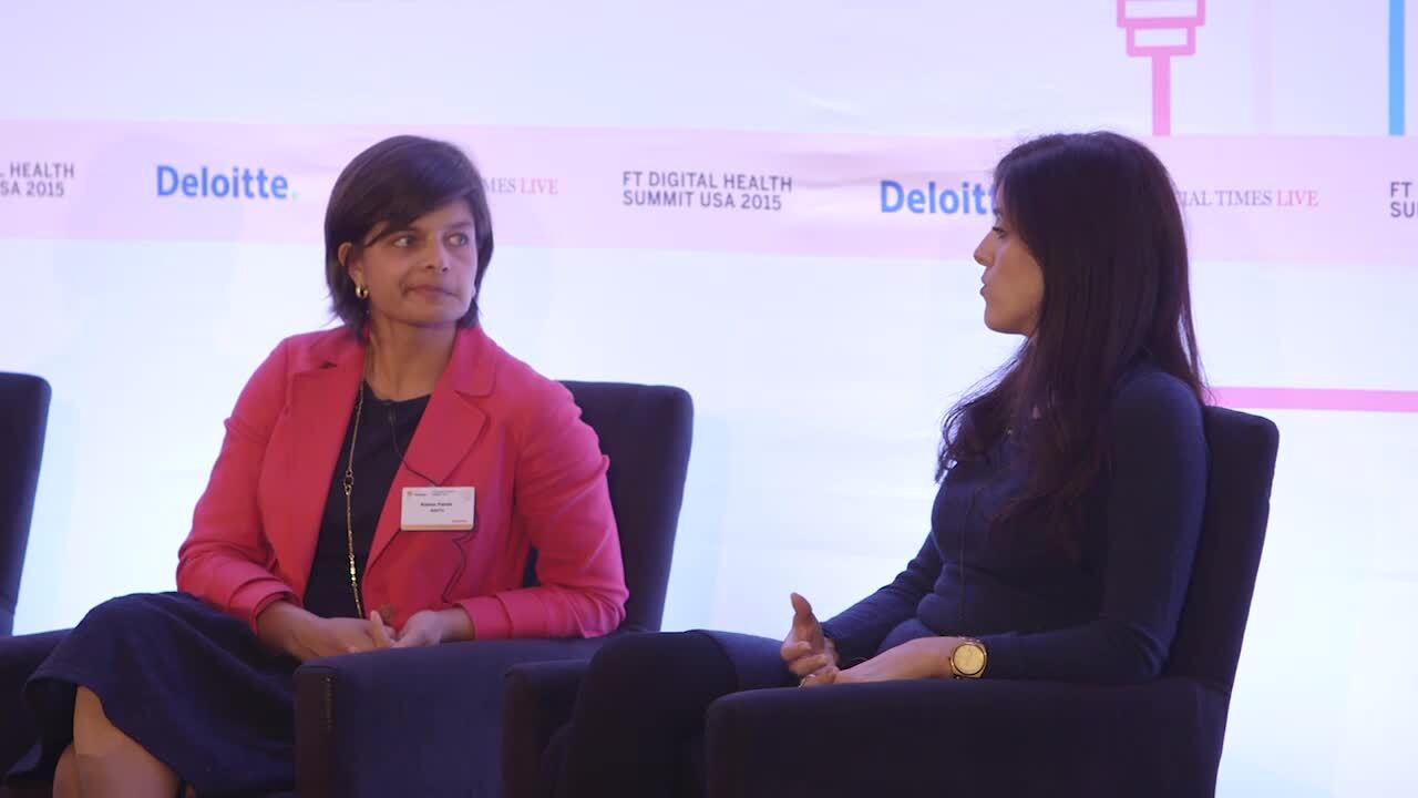 FT Digital Health Summit USA 2015 organised by FT Live
