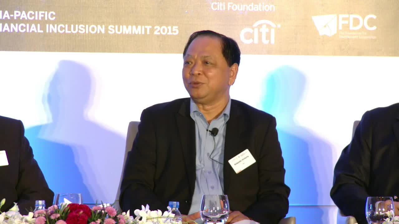 Asia-Pacific Financial Inclusion Summit 2015 organised by FT