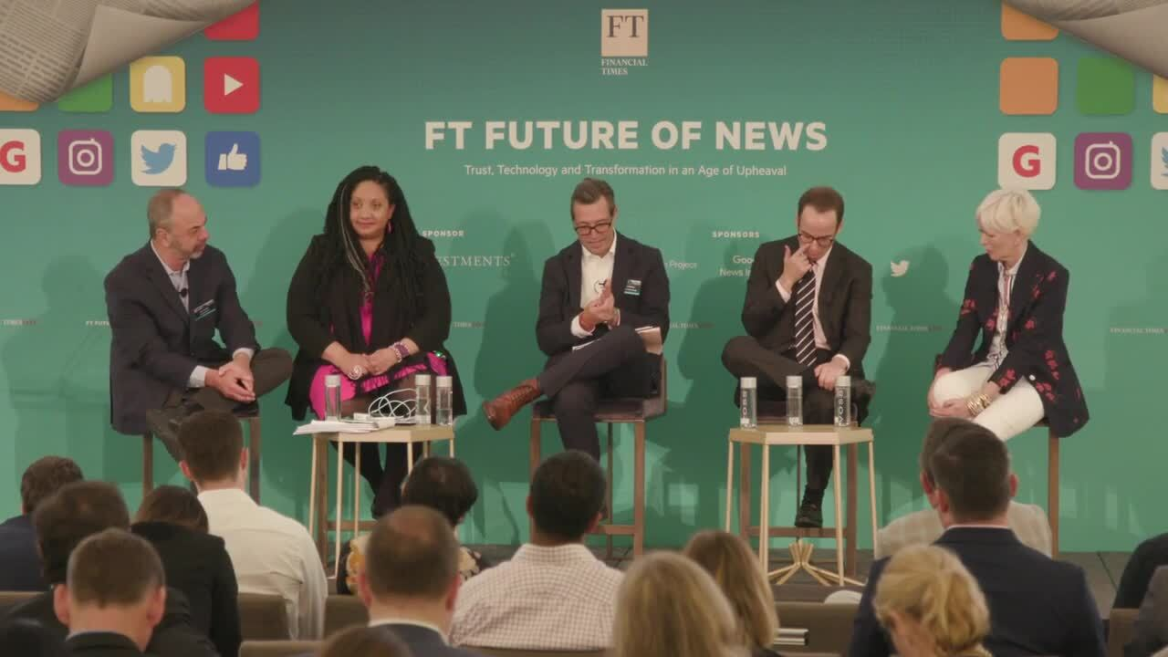FT Future of News organised by FT Live