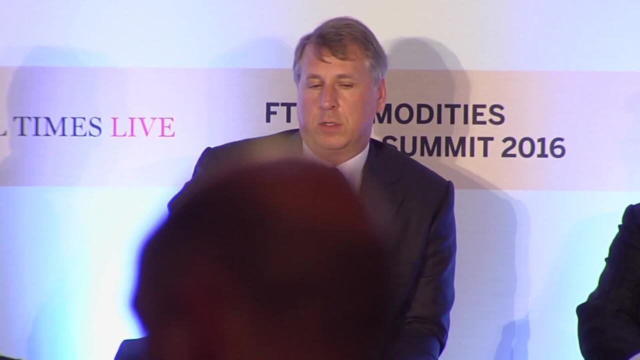 FT Commodities Global Summit 2016 organised by FT Live