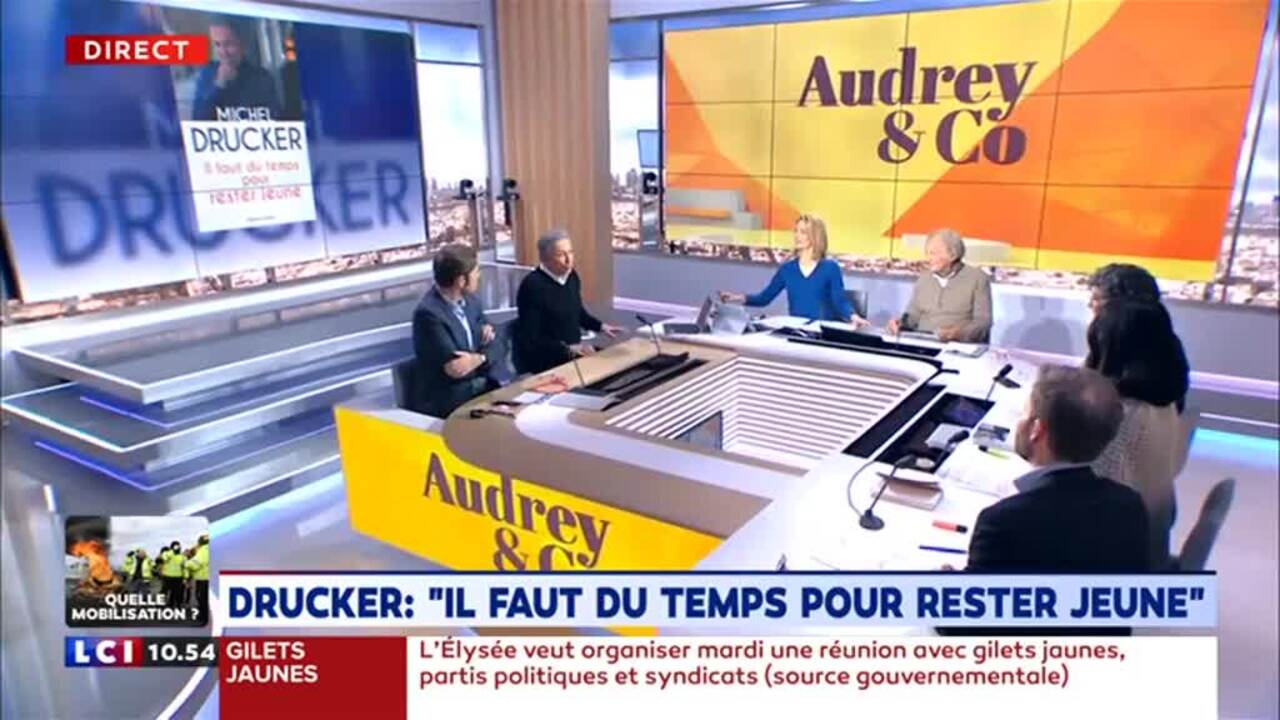 567618a3e1e VIDEO – Michel Drucker gentiment recadré par sa femme - Gala