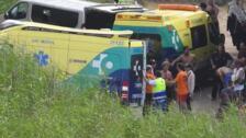 Herido un hombre tras caer cuando practicaba parapente en Sopela