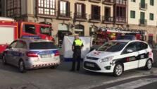 Un hombre de 70 años muere en el incendio de su piso en el centro de Bilbao