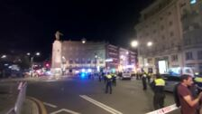 La Plaza Circular, cerrada por la bronca con los manteros
