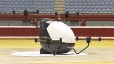 Así despega el primer taxi aéreo sin conductor 'made in Euskadi'