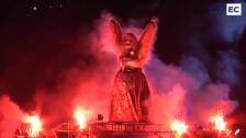 La quema de Marijaia cierra la Aste Nagusia de Bilbao