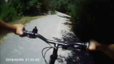 Recorrido en primera persona de la vía verde del Zadorra