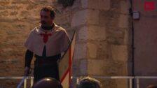 Una de caballeros en el Mercado Medieval de Vitoria