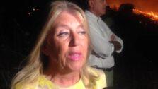La alcaldesa de Marbella informa sobre el incendio