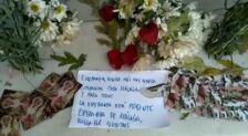 Romero y flores para el Nazareno del Paso y la Virgen de la Esperanza