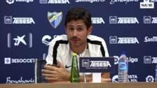 Víctor Sánchez, los jugadores están demostrando su profesionalidad a pesar de las circunstancias