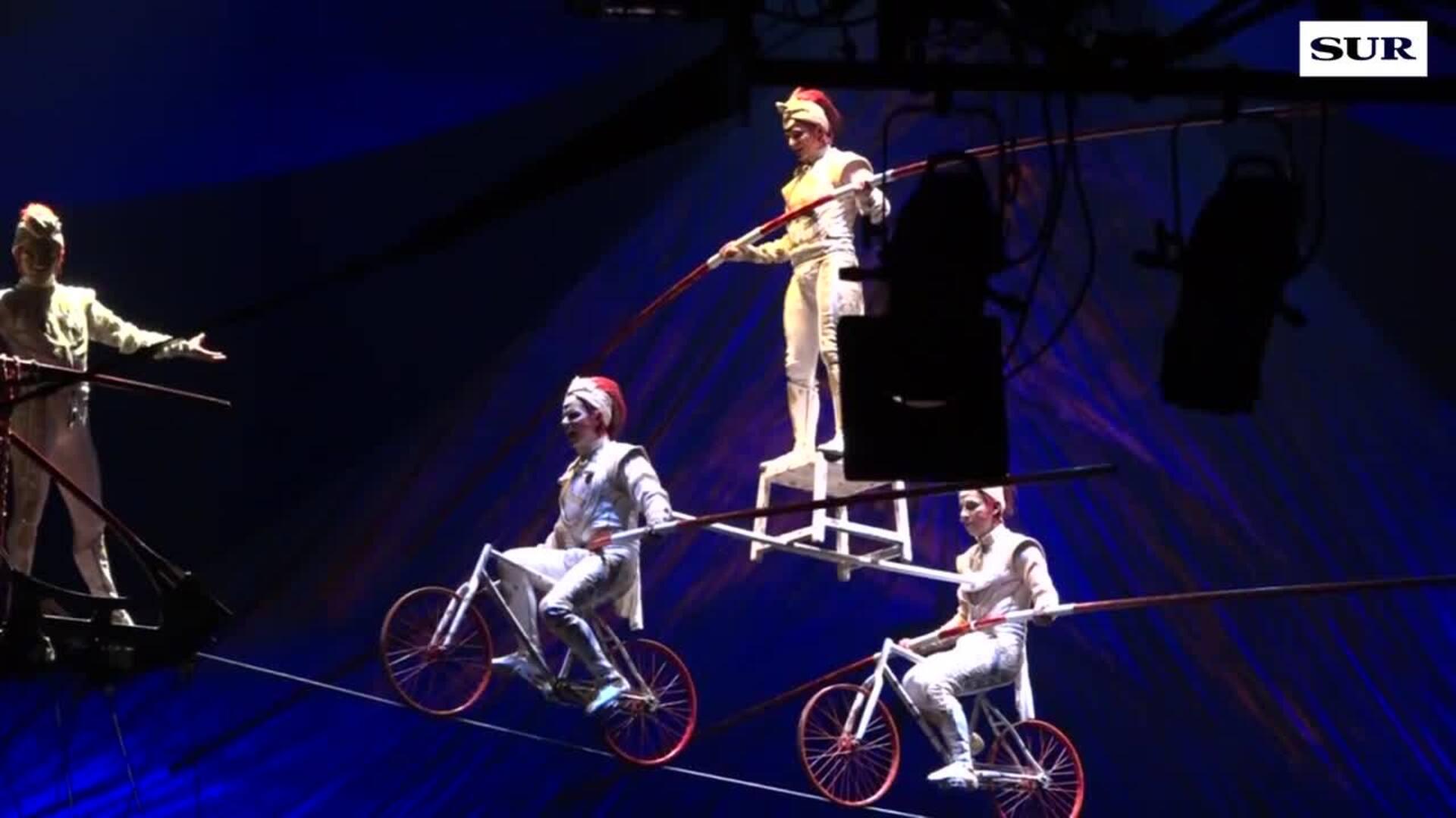 Así es el espectáculo del Circo del Sol, Kooza