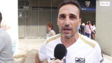 Encuesta a los aficionados del Málaga en la protesta contra la gestión del club