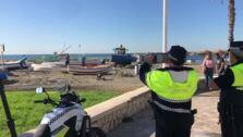 La Policía Local de Málaga retira las barcas abandonadas de los varaderos