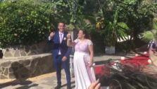 Una boda al ritmo del Unicaja
