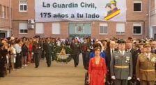 Actos de la Guardia Civil en Málaga el 12-O: homenaje a los caídos