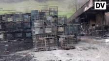 Controlado el incendio de la empresa Irurena de Azpeitia