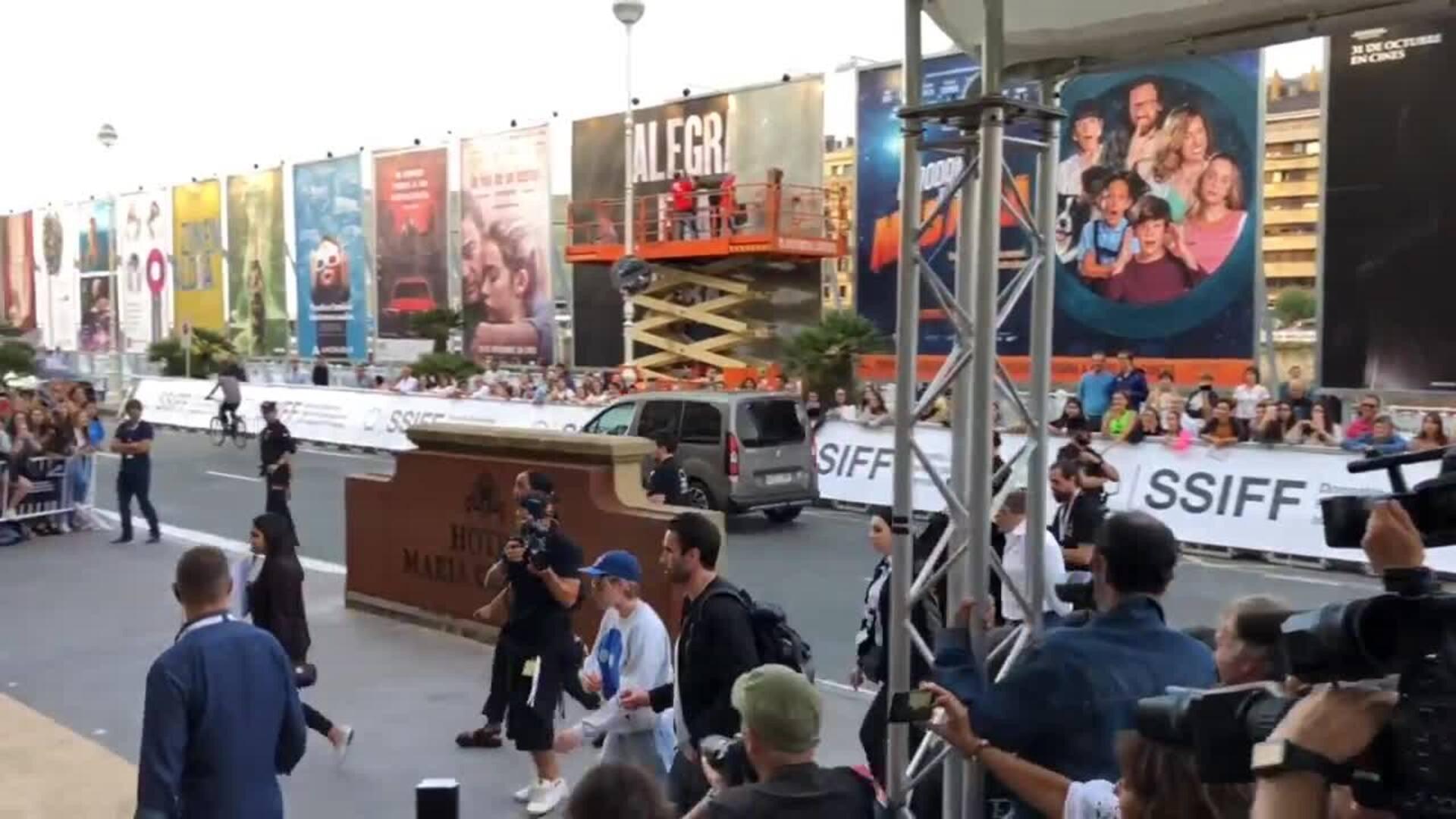 Kristen Stewart llega al Festival de Cine de San Sebastián