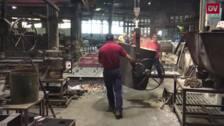 La barandilla de La Concha se fabrica en Oporto