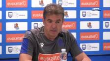 Gonzalo Arconada: «Espero un partido de mucha intensidad»