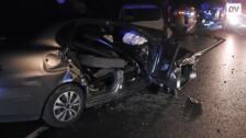 Fallece una persona en una colisión entre dos vehículos en Aretxabaleta