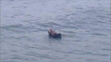 Rescatan a una embarcación en apuros en San Sebastián