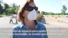El mercadillo de Mérida reabre con solo 40 puestos y más clientes de los esperados