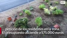 Nuevas plantas en la avenida Virgen de Guadalupe en Cáceres