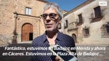 Grabación de `un pais para escucharlo´en Extremadura