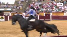 Resumen de la corrida de rejones en la Feria de San Juan de Badajoz