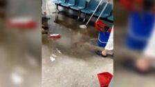 Se inunda el área de rehabilitación del Hospital San Pedro de Alcántara de Cáceres