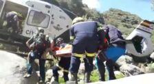 Una mujer, rescatada tras caer a una poza en la garganta de la Hoz, en Madrigal de la Vera
