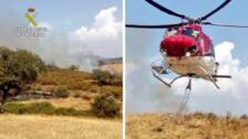 La Guardia Civil detiene al pirómano de los últimos incendios forestales perpetrados en Valverde del Fresno