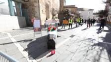 Los hosteleros vuelven a pedir más aforo dentro y carpas en la calle