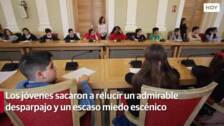 Pleno Infantil en el Ayuntamiento de Cáceres